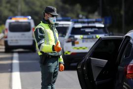 Más de 500 controles en Baleares desde el inicio de la Semana Santa