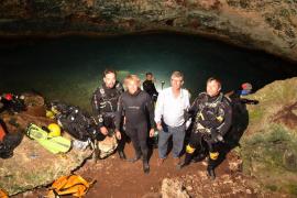 Jesús Calleja hablará de la cueva de sa Gleda en el Pueblo Español