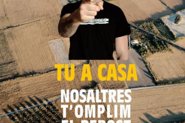 Unió de Pagesos retira la foto de Valtònyc de su campaña de promoción del producto local