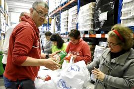 Banco de alimentos de Mallorca, un aniversario agridulce