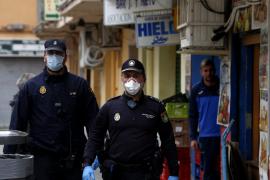 Detenido un hombre en Palma por estar «tomando el fresco» en la calle