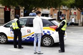 Un total de 69 policías locales de Palma a día de hoy están afectados por el virus