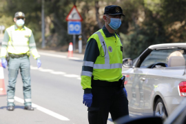 Viernes Santo: 439 conductores fueron multados en Baleares