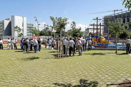 La  reurbanización del entorno del Palacio de Congresos tiene un sobrecoste de cuatro millones