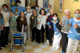 La residencia de Cas Metge Rei, en Santa Maria, un bastión libre de coronavirus