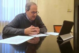 Torra pide a Sánchez los «informes sanitarios» que avalan levantar el confinamiento total
