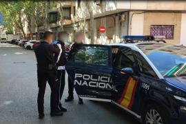 Detenido en Palma un hombre por cinco atracos con arma blanca