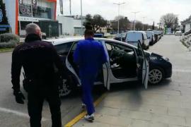 Detenida una pareja que vendía marihuana en Palma con el coche de empresa y su bebé en el interior