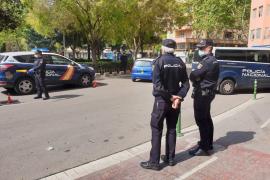 Detenido en Palma por incumplir estado de alarma y caminar con una pistola eléctrica