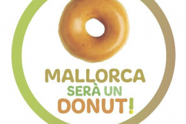 «Mallorca será un donut», un misterioso mensaje que inunda las redes sociales