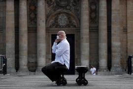 Francia roza el listón de los 15.000 muertos por coronavirus