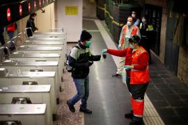 El número de contagios sigue descendiendo en España