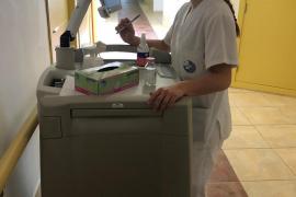 María Antonia Gomila, de la Copa de la Reina de voleibol al Hospital del Llevant