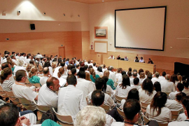 PALMA REUNION SINDICATO MEDICO EN SON LLATZER FOTO MIQUEL A.