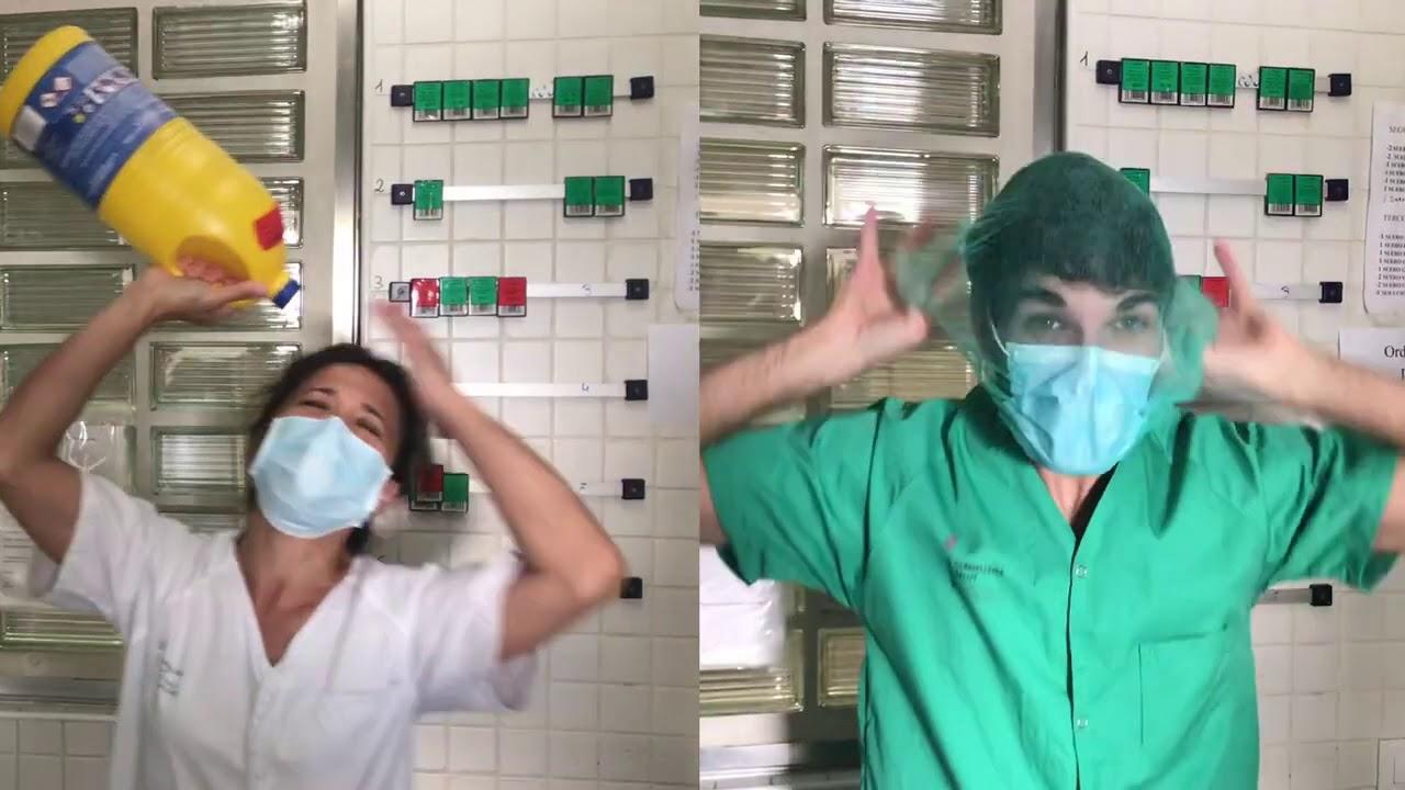 El hospital de Manacor al baile de 'Resistiré'