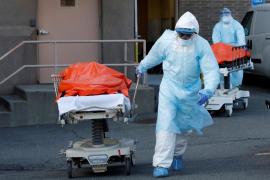 Nueva York alcanza el 'pico' de contagios, con cerca de 11.000 muertos