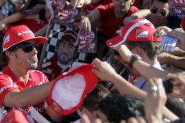Alonso, quinto en los primeros entrenamientos de Valencia