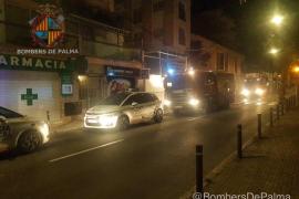 Extinguido un incendio en un hotel cerrado en Palma