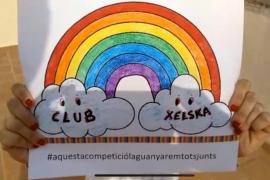El arcoíris Xelska aterriza en las redes sociales