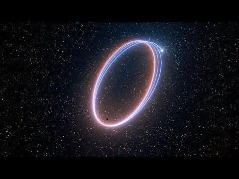 Einstein tenía razón: Observan la 'danza' de una estrella alrededor un agujero negro