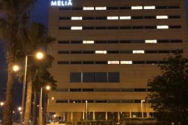 Una decena de enfermos con coronavirus están ingresados en el hotel del Palacio de Congresos de Palma