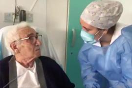 Miguel vence al coronavirus a los 95 años: «Uno siente que la vida vuelve»