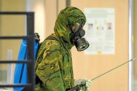 Unidad básica de descontaminación del Ejército español