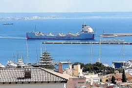 Un cargamento de yates en Palma