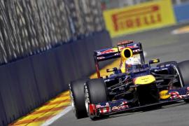 Vettel saldrá desde la 'pole' en Valencia