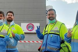 Los técnicos de emergencias, al 'pie del cañón' en Baleares