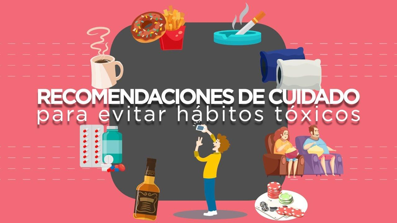 Guía para evitar hábitos tóxicos durante el confinamiento
