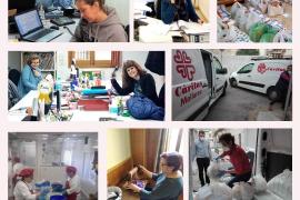 Cáritas Mallorca recibe casi un 50 % más de peticiones de ayuda