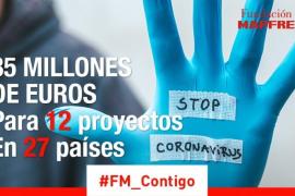 Fundación MAPFRE destina 35 millones de euros a frenar la COVID-19, ayudar a las familias y recuperar el empleo