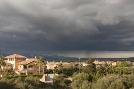 Fin de semana de tormentas en Mallorca