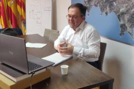 Josep Marí Ribas mantuvo una reunión virtual con los vecinos del municipio