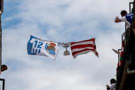 El día de la 'no final' de la Copa del Rey en los balcones