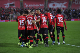 El Mallorca pacta con su plantilla una rebaja del 15% de su salario si la Liga se cancela