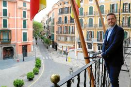 José Hila: «El proyecto del tranvía peligra con esta crisis, pero no la política de movilidad»