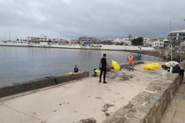 Cort empieza a reparar el muro de Cala Gamba dañado por los temporales