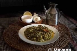 Imagen del plato ganador.