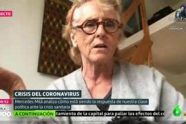 Mercedes Milá carga contra Ayuso: «Es la community manager de un perro»