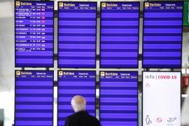 La llegada de pasajeros internacionales se desploma en Baleares