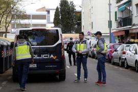 Arrestado un hombre por escupir en la cara a los policías y lanzarles varios puñetazos en Palma