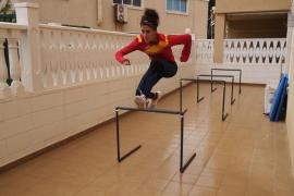 Caridad Jerez, atleta: «He mejorado la repostería»
