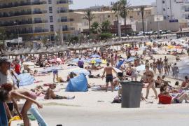 Mallorca registra temperaturas que rozan los 35 grados en la primera ola de calor