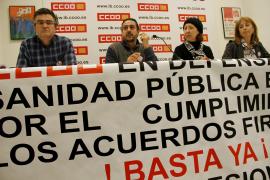 La secretaria general de CCOO-Sanidad inicia  una huelga de hambre por el recorte  en Salud