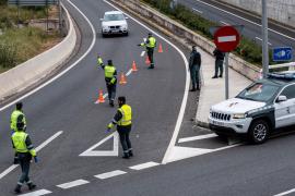 Identifican este jueves a más de 12.500 personas y 11.200 vehículos en los controles de carretera de Baleares