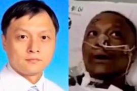 Secuelas del coronavirus: Dos médicos chinos se despiertan del coma con la piel negra