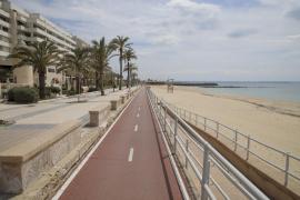 Palma permite pasear con niños por la playa y los parques y zonas verdes abiertos
