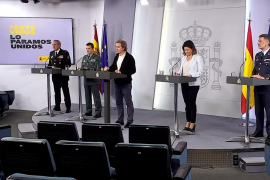 Moncloa elimina la rueda de prensa diaria con los portavoces del Comité Técnico